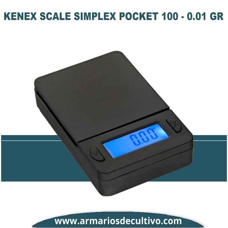 Báscula Kenex Scale Simplex Pocket (100 gr x 0.01)