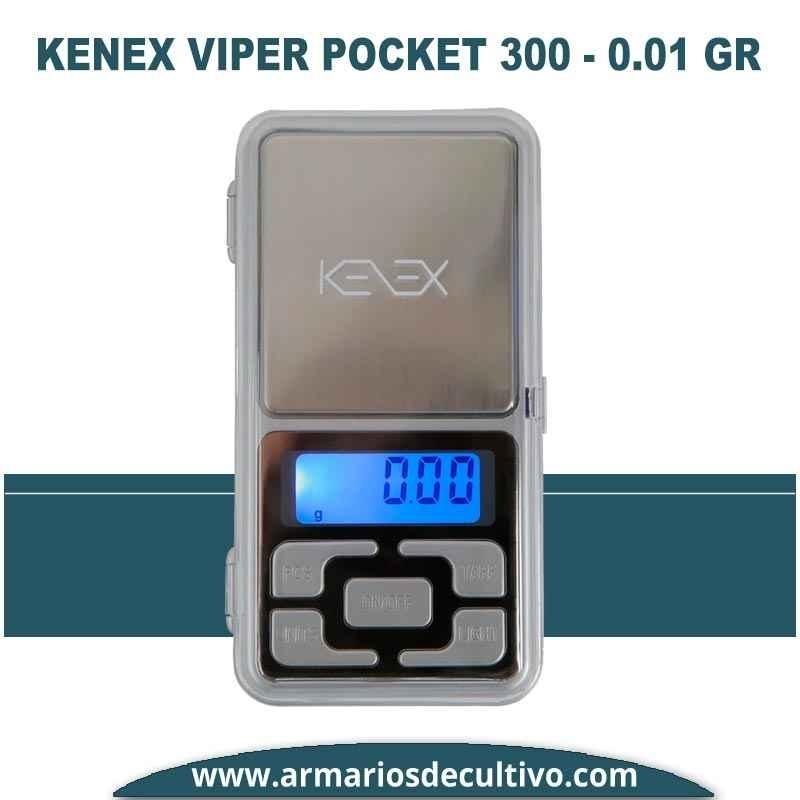 Báscula Kenex Viper Pocket (300 gr x 0.01)