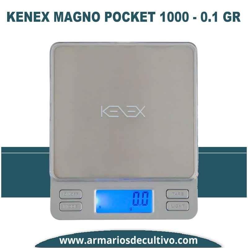 Báscula Kenex Magno Pocket (1000 gr x 0.1)
