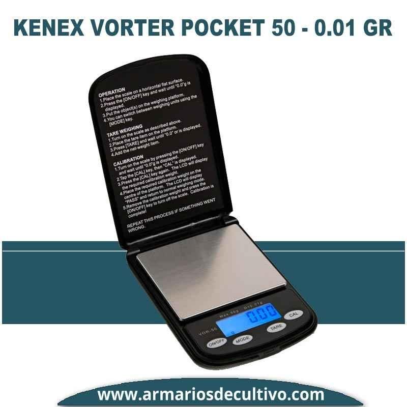 Báscula Kenex Vortex Pocket (50 gr x 0.01)