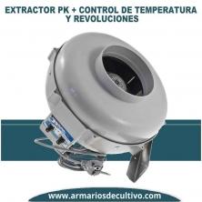 Extractor PK control de temperatura y revoluciones