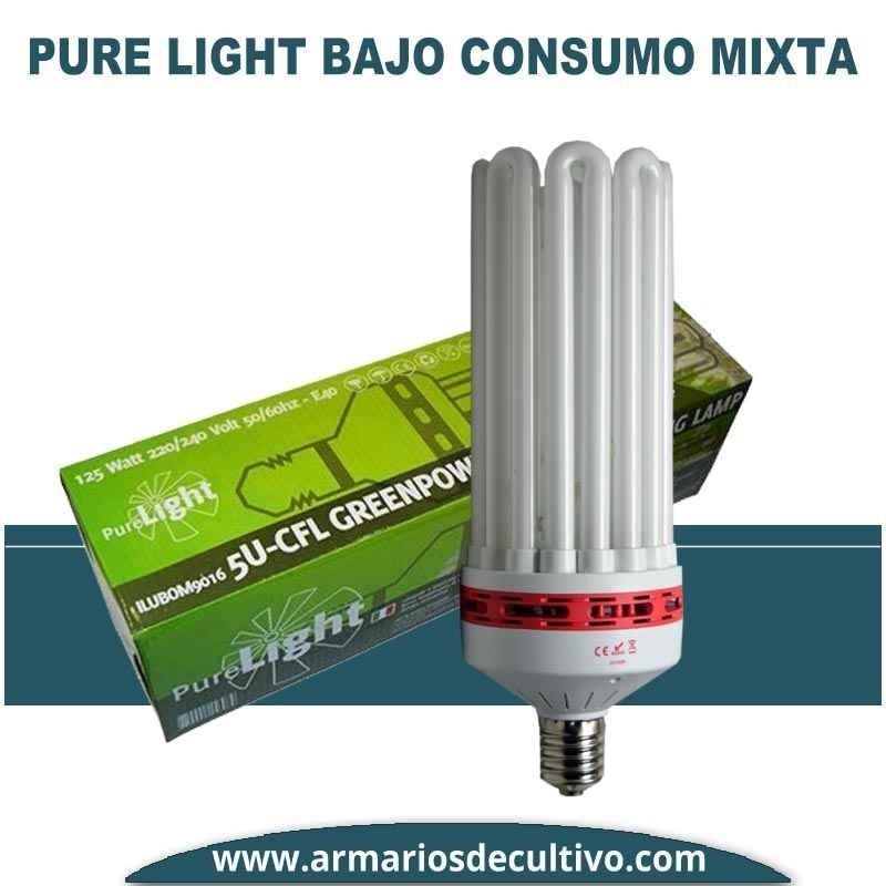 Bombilla Pure Light Bajo Consumo Mixta