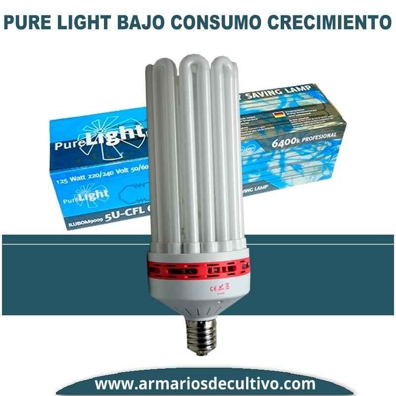 Bombilla Pure Light Bajo Consumo Crecimiento