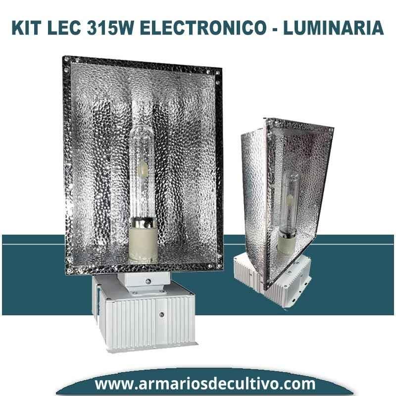 Kit LEC 315w Electrónico Luminaria