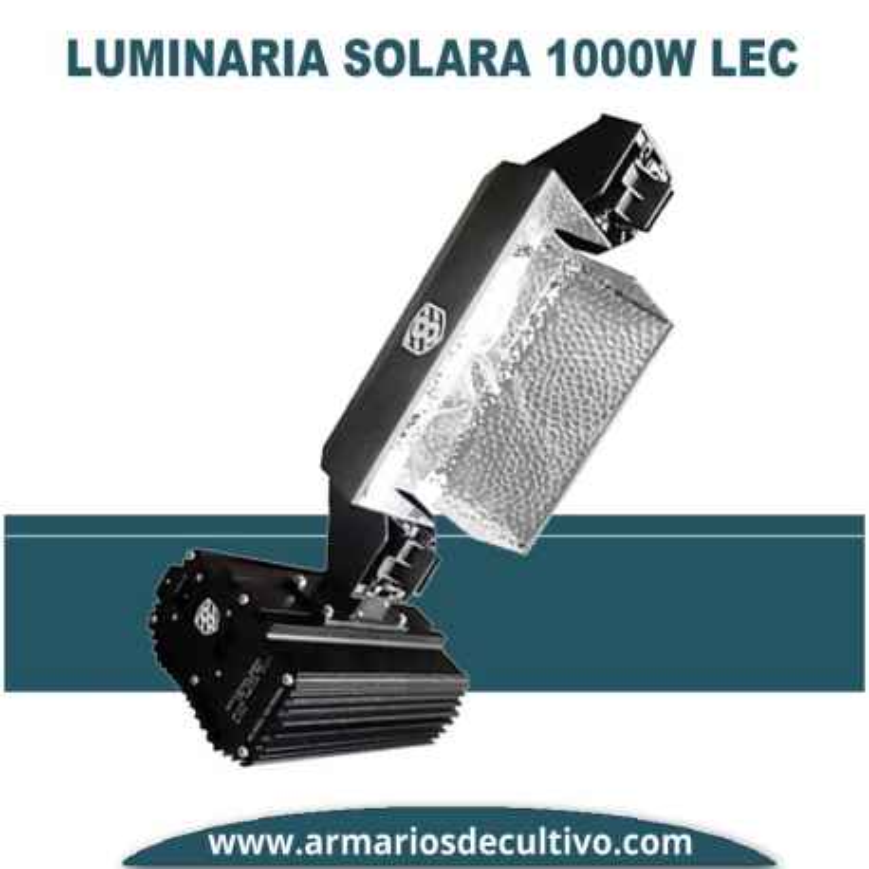 Luminaria 1000 W Solara Lec d.e. Solux