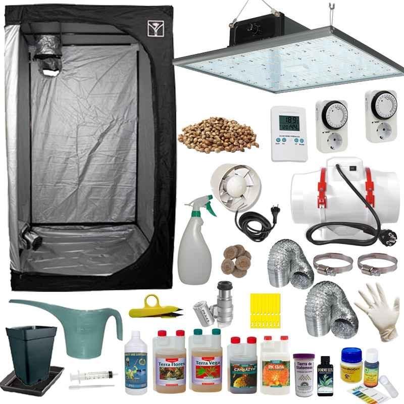 Kit de cultivo LED 100/120 Completo Eco 320w