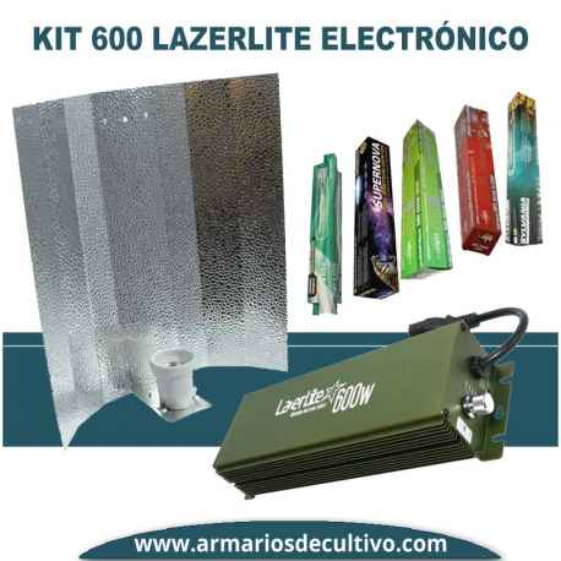 Kit 600w Lazerlite Electrónico Regulable