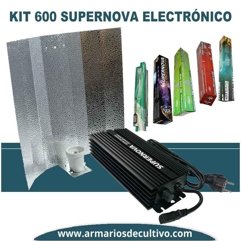 Kit 600w Supernova Electrónico Regulable