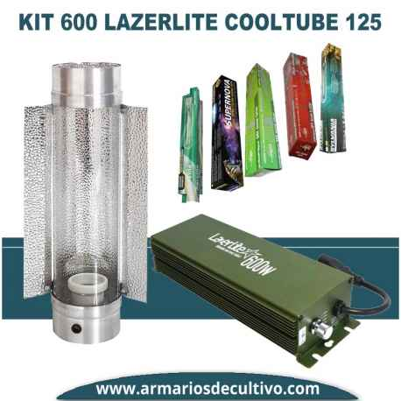 Kit 600w Lazerlite Electrónico Cooltube 125