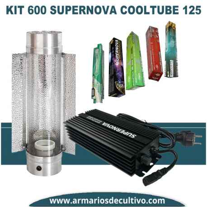 Kit 600w Supernova Electrónico Cooltube 125
