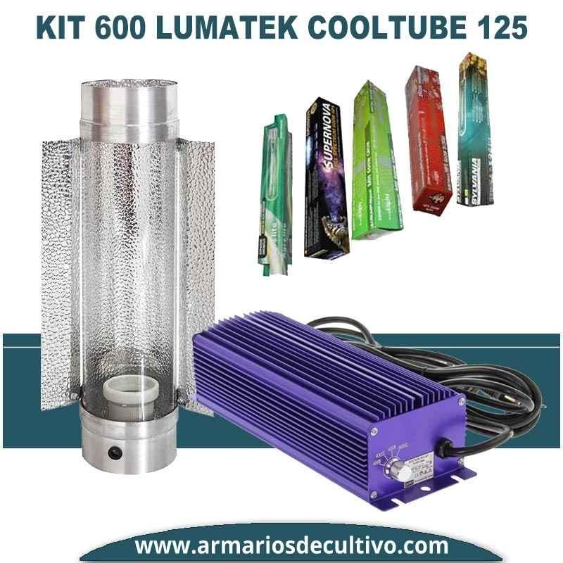 Kit 600w Lumatek Electrónico Cooltube 125