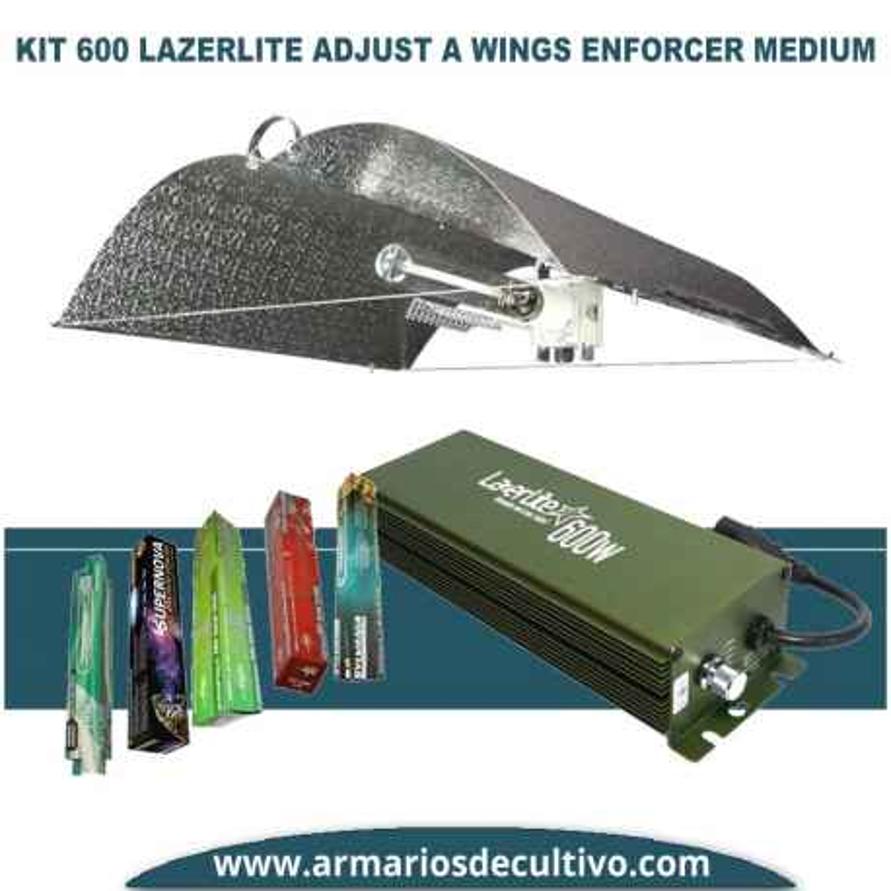 Kit 600w Lazerlite Adjust A Wings Enforcer Medium