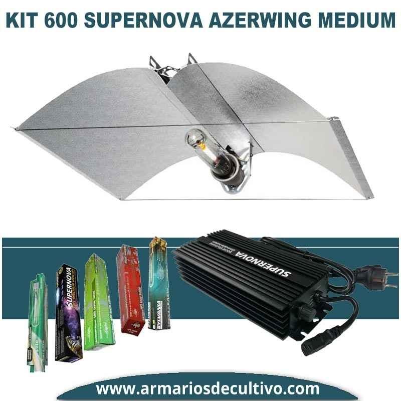 Kit 600w Supernova Electrónico Azerwing Medium