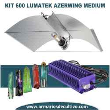 Kit 600w Lumatek Azerwing Medium Vega 86%