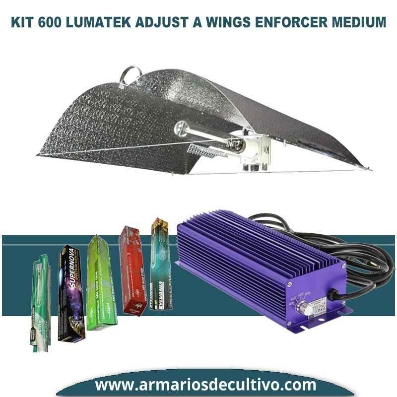 Kit 600w Lumatek Adjust Enforcer Medium