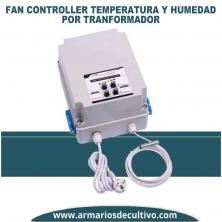 Fan Controller Temperatura y Humedad por Transformador