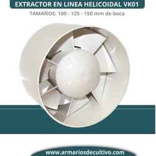 Extractor Vk en linea helicoidal
