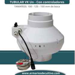 Extractor Vk Un (125 – 150) Tubular Regulable