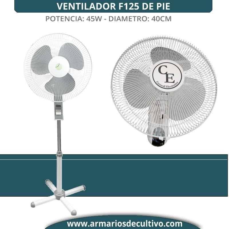 Ventilador Pie F125