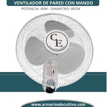 Ventilador 16WF Pared Mando