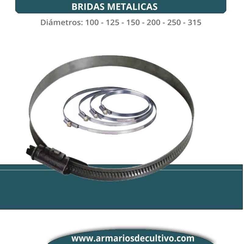 Brida metálica