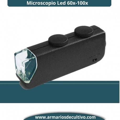 Microscopio Led 60x-100x
