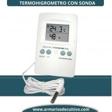Termohigrometro digital Max-Min Cornwall con Sonda