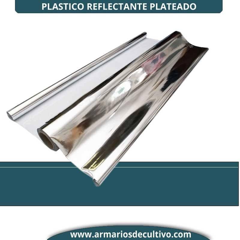 Plastico Reflectante Plateado