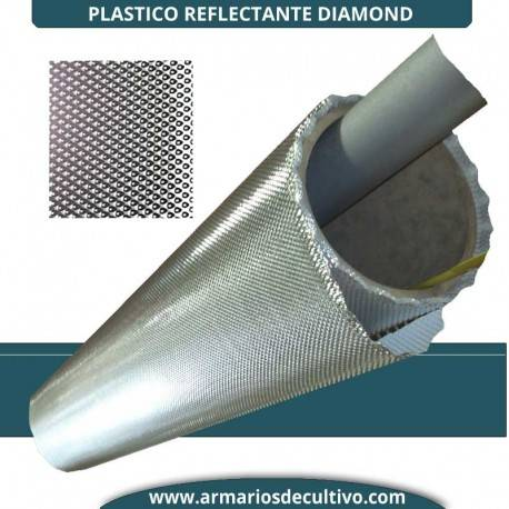 Plastico Reflectante Diamond