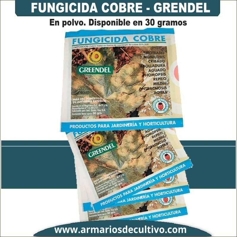 Fungicida Cobre Greendel 30 gr.