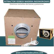 Extractor Isobox Madera Hdf Insonorizado Airfan