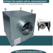Extractor Isobox Metal Insonorizado Airfan