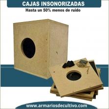 Caja Insonorizada profesional para Extractores VK y RVK