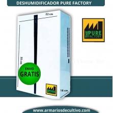 Deshumidificador Pure Factory 0.75 L/Día Estancias pequeñas