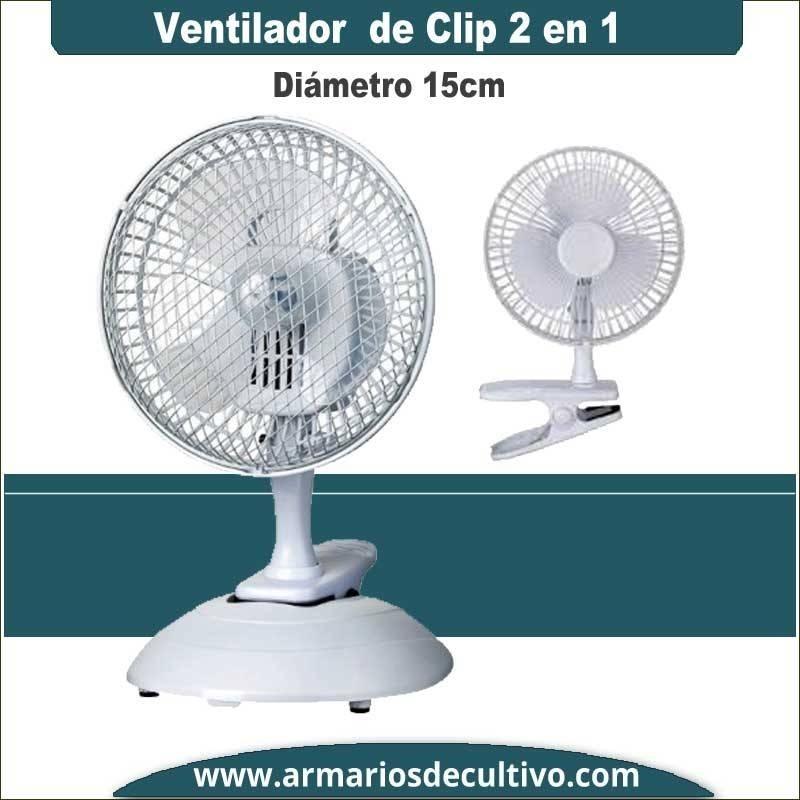 Ventilador de clip 2 en 1 Pure Factory Typhoon