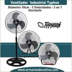 Ventilador Industrial 3 en 1 Typhoon Pure Factory