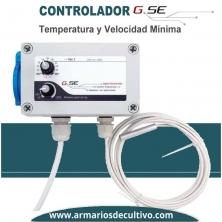 Controlador de Temperatura GSE y Velocidad Mínima