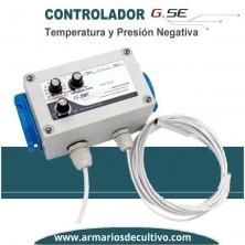 Controlador de Temperatura y Presión Negativa