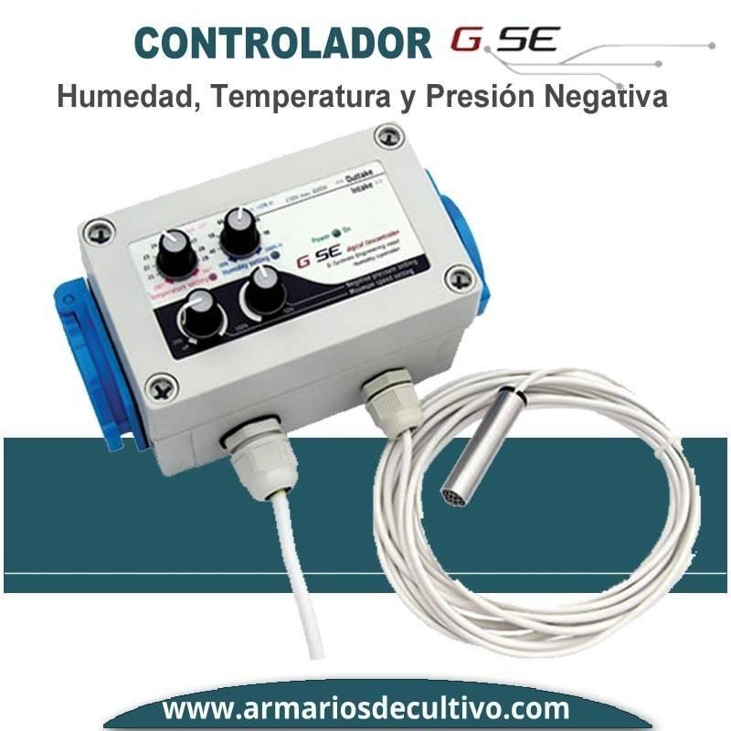 Controlador de Humedad Temperatura y Doble Presión GSE