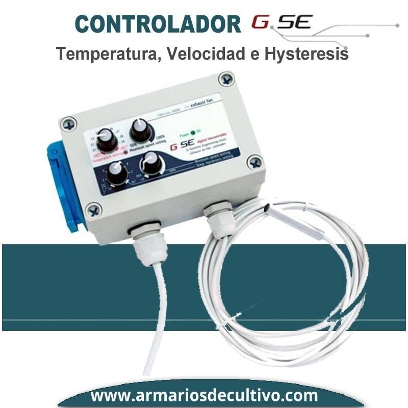 Controlador de Temperatura Velocidad e Hysteresis