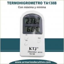 Termohigrometro Max/Min TA138B digital