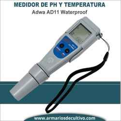 Medidor digital de PH y Temperatura Adwa AD11