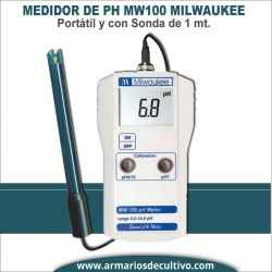 Medidor de PH MW100 Milwaukee