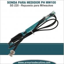 Sonda de Recambio para Medidor PH MW100