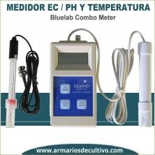 Bluelab Combo Meter - Medidor de EC, PH y temperatura