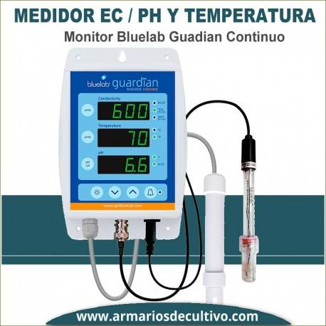 Bluelab Guardian - Medidor de PH y EC Continuo