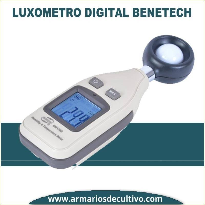 Luxómetro Benetech Digital