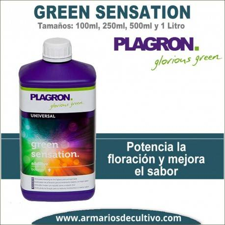 Green Sensation (100 ml, 250 ml, 500 ml, y 1 Litro)