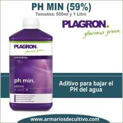 PH Min (500ml y 1 Litro) Plagron