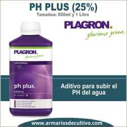 PH Plus (500ml y 1 Litro) Plagron